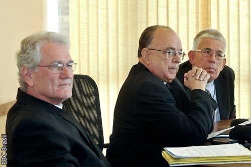 Dirigentes da Conferência Nacional dos Bispos do Brasil. Foto: EBC Brasil