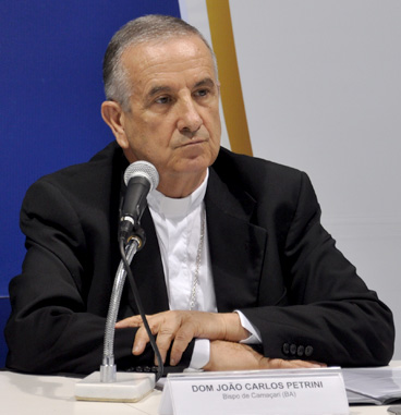 João Carlos Petrini - presidente da Comissão Episcopal para Vida e Família da CNBB