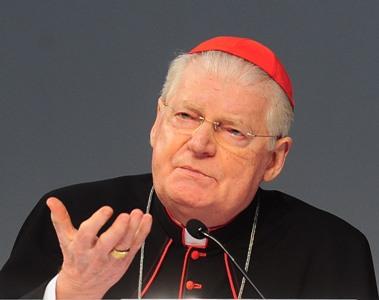 O cardeal Ângelo Scola faz saudação inicial do Encontro Mundial das Famílias