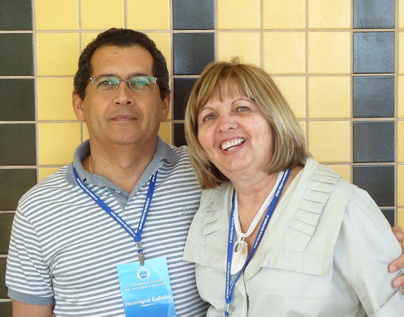 Henrique e Marcia Calado