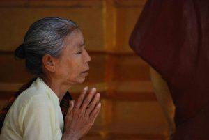 Orar, Mulher, Idade, Fé, Oração