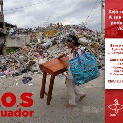 Famílias do Equador precisam de ajuda após terremoto