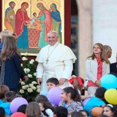 Turminha da Catequese conversa com o papa Francisco sobre o desafio de ser jovem