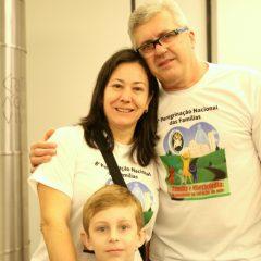 Casais membros da  Pastoral Familiar testemunham o amor e a força da família