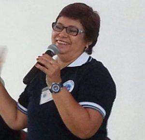 Maria Célia Pinto se despediu da coordenação regional da Pastoral Familiar após mais de 10 anos. Foto: Divulgação