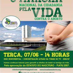 9º Marcha Nacional contra o aborto