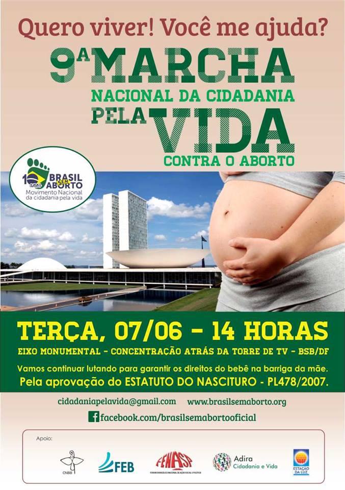 9ª Marcha Nacional da Cidadania pela VIDA