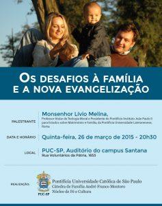 Os desafios da Família e a nova evangelização