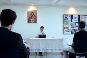 Abertura da 1ª Reunião das Associações de Família no Brasíl