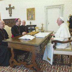 Presidência da CNBB é recebida pelo papa Francisco