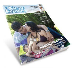 O casal Leandro e Denyele, da diocese de Uberlândia (MG) são destaques de capa da Revista Vida e Família Nº 97