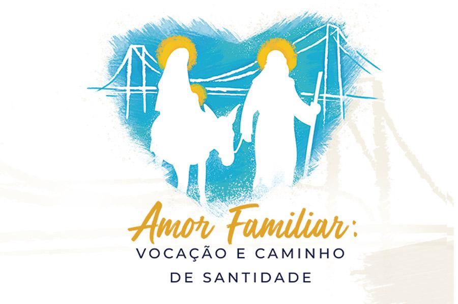 A identidade visual do congresso destaca a Sagrada Família, modelo para todas as famílias, está representada pela imagem de Nossa Senhora do Desterro, padroeira de Florianópolis, cidade que acolhe esta edição do evento