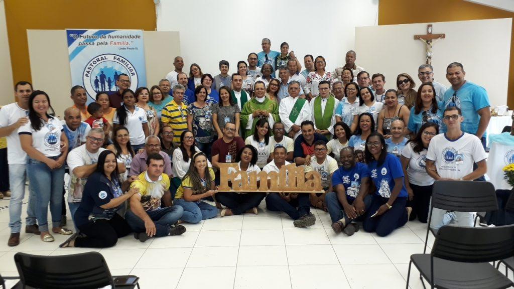 Assembleia Regional da Pastoral Familiar aconteceu na Diocese de Camaçari-BA. 20 dioceses das 28 que compõe o Regional estiveram presentes para aprofundar as Diretrizes Gerais da CNBB 2019-2023