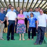 Assessores da CNBB visitam sede da CNPF