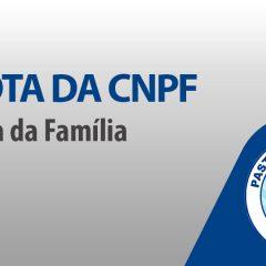 Nota da CNPF: liberados encontros do Hora da Família Mensal