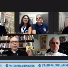 Coordenação Executiva e Assessoria Pedagógica projetam ações da Pastoral Familiar
