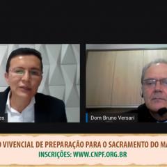 Regional Sul 2 participa de live sobre Itinerário Vivencial para o Matrimônio