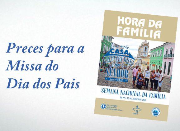 Pastoral Familiar oferece sugestão de preces e oração para missa do Dia dos Pais