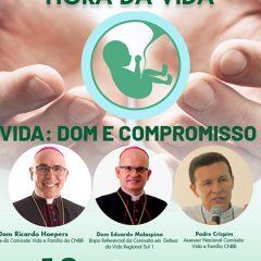 """Comissão de Defesa da Vida do Sul 1 promove live """"Hora da Vida"""""""