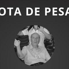 Nota de pesar pelo falecimento de Kleber Antônio Ferreira