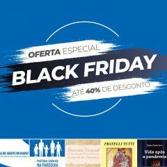"""Loja da Pastoral Familiar tem descontos de """"Black Friday"""" até domingo"""