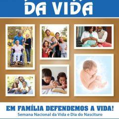 Semana Nacional quer unir famílias na defesa da vida